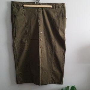 Plus skirt